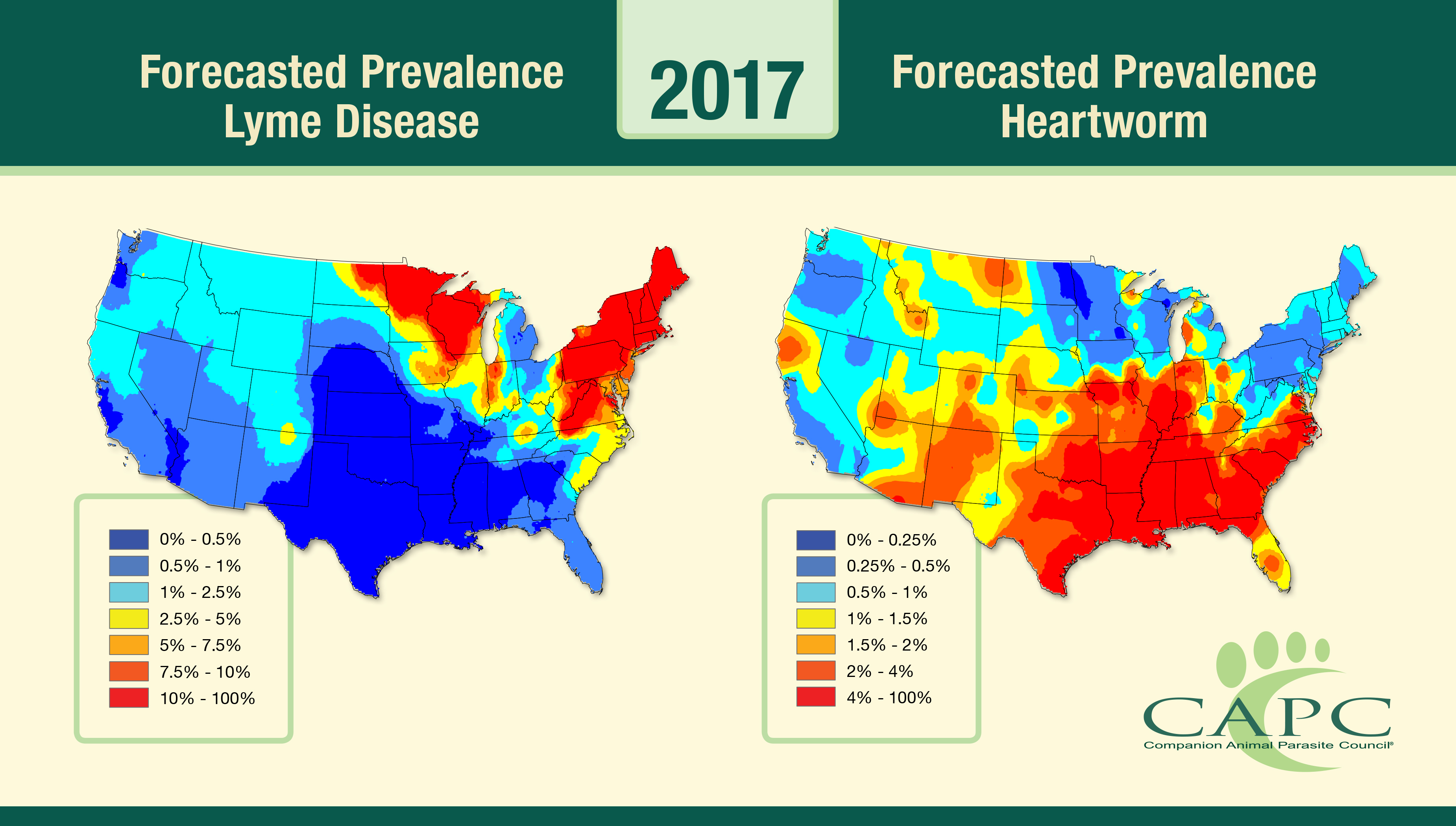 2017 CAPC Parasite Forecasts Released!