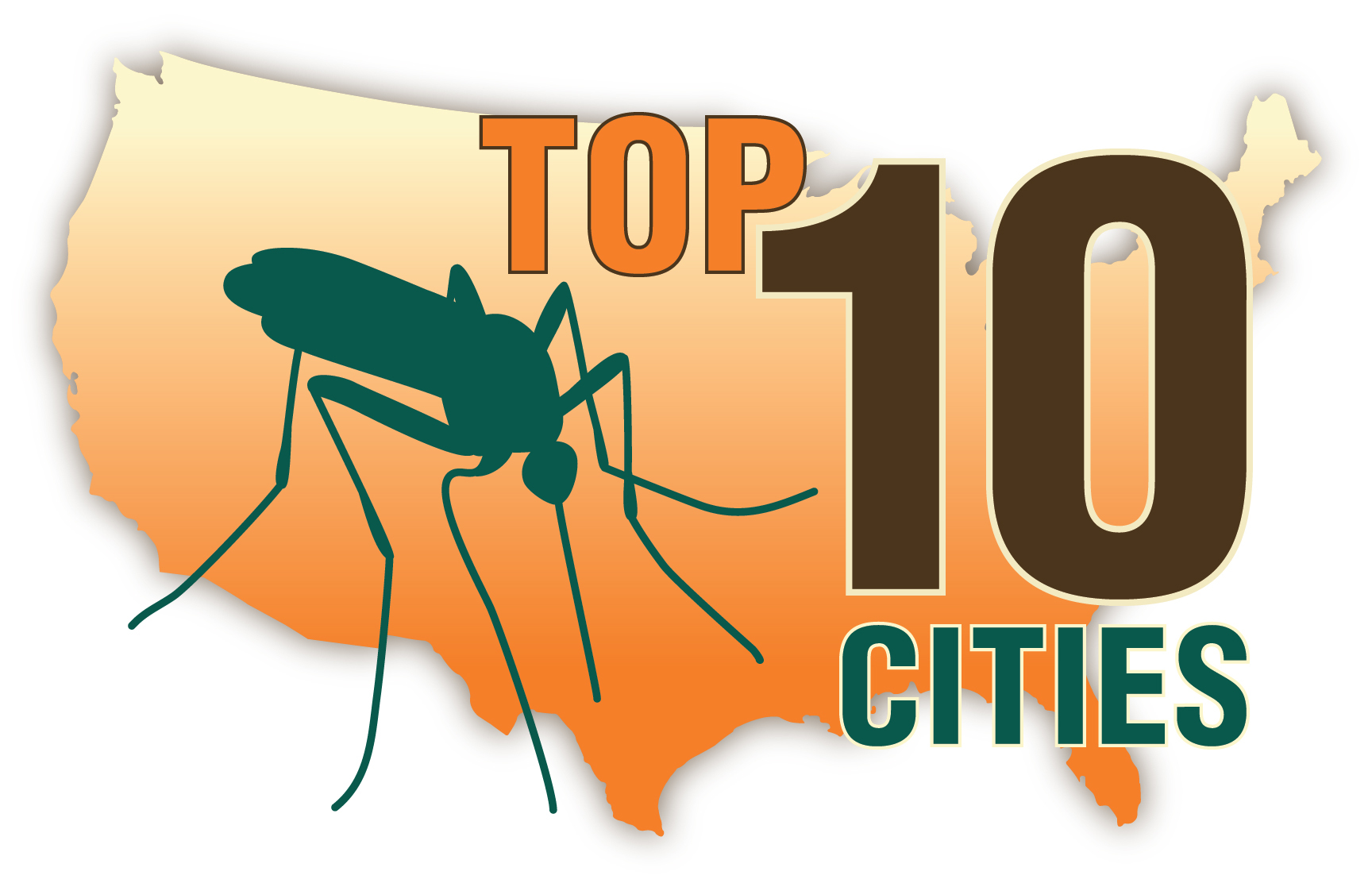 CAPC Top 10 Cities List for Heartworm Disease